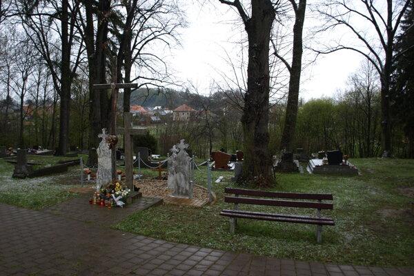 Cintorín v Liptovskej Ondrašovej.
