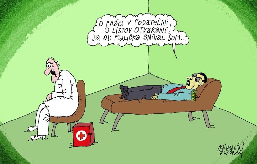 Parlamentná psychoanalýza (Sliacky) 29. apríl