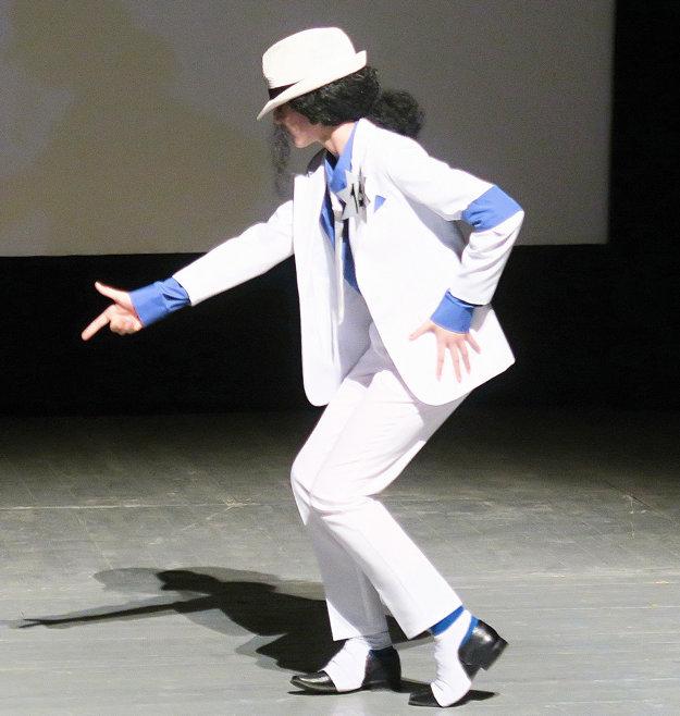 Michael Jackson vpodaní Anety Ružôňovej.