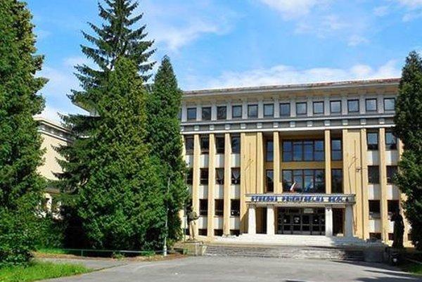 Stredná priemyselná škola v Martine. Z krajského rozpočtu dostane na nové okná.