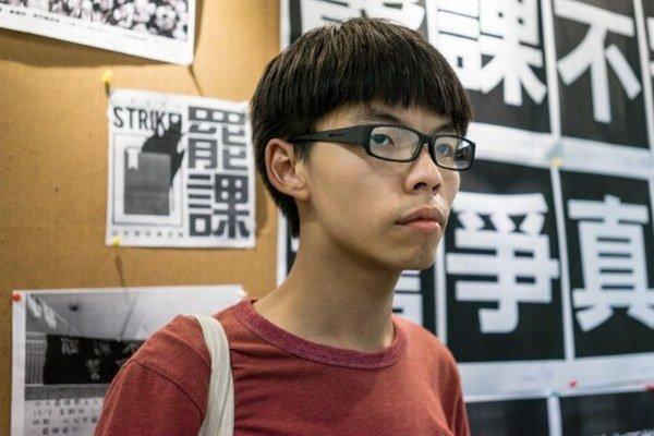 Demokracia musí prísť hneď, hovorí Joshua Wong.