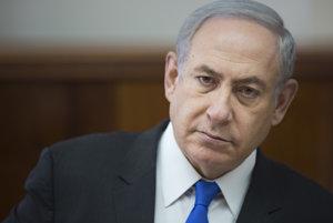 Izraelský premiér Netanjahu.
