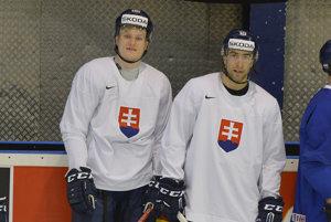 Andrej Kudrna (vpravo).