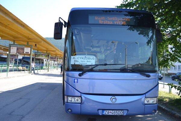 Cyklobusy budú premávať aj do Bystrickej a Terchovskej doliny.