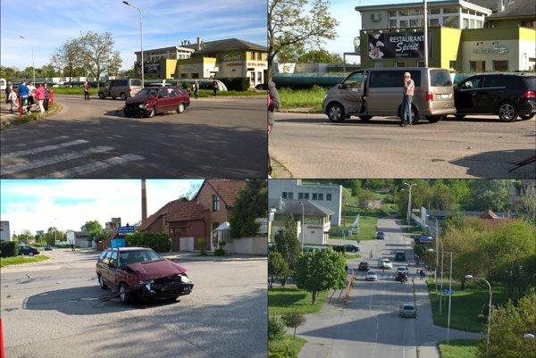 Dopravná nehoda V Nových Zámkoch