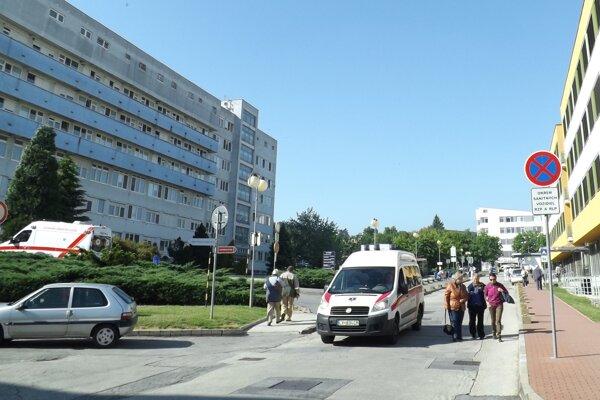 Heliport má byť na streche chirurgického pavilónu (vľavo).