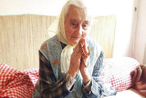 Žofia Lovaštíková sa modlí za šťastné manželstvá mladých.
