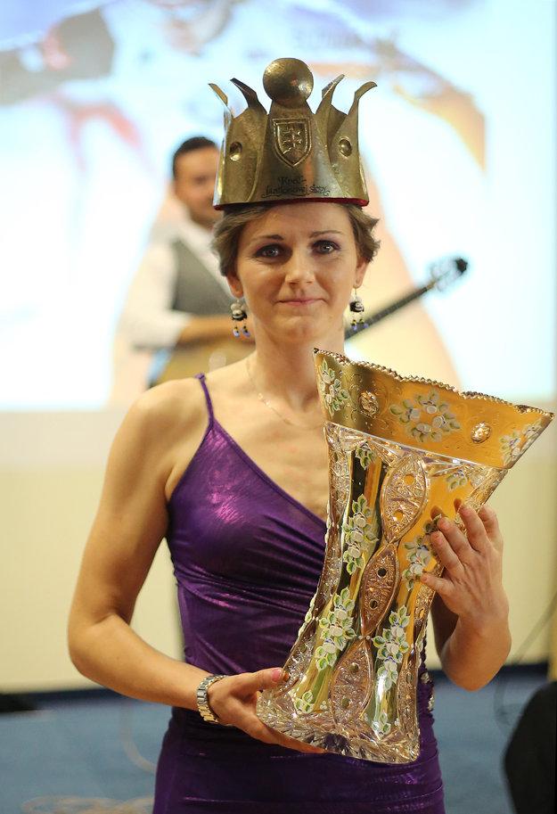 Jana Gereková sa stala najlepšou slovenskou biatlonistkou sezóny 2014/2015.
