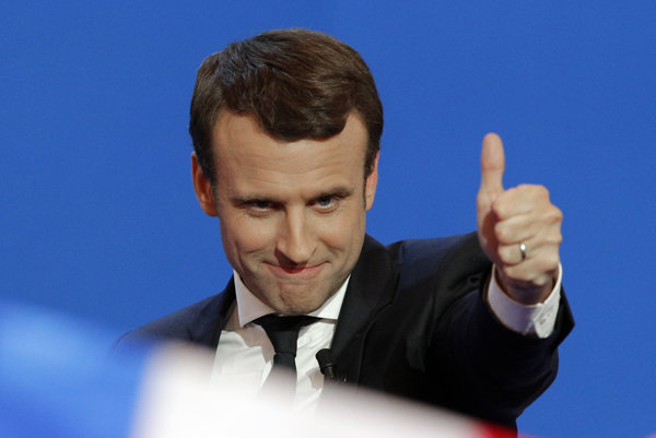Francúzsky prezident Macron.
