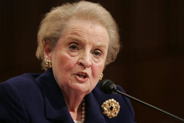 Bývalá ministerka zahraničných vecí USA Madeleine Albrightová.