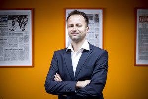 Marian Zima, riaditeľ vydavateľstva Šport Press a predseda Asociácie na ochranu novinárskej etiky, ktorá zastrešuje fungovanie Tlačovej rady SR.