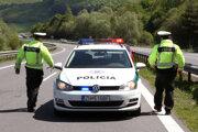 Policajná hliadka.