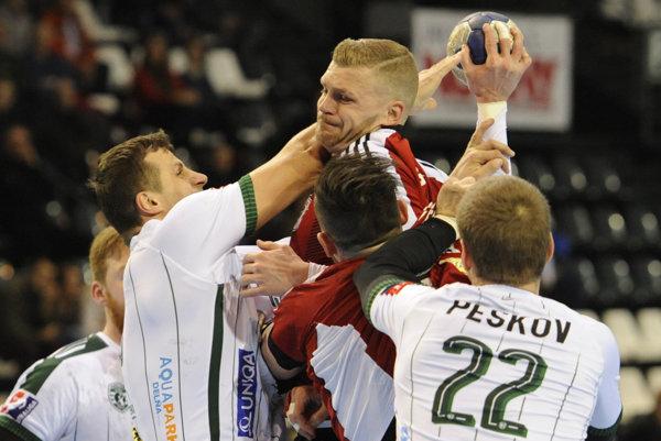Vo finále obhajca proti Šali. Radovan Pekár (vľavo) je rád, že otitul bude hrať Prešov práve so Šaľou.