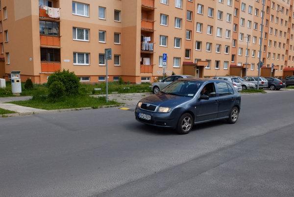Polovičné spomaľovače pred križovatkami a priechodmi pre chodcov vodiči obchádzajú v protismere.