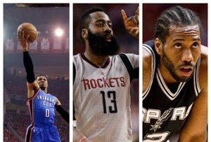Ocenenie pre najužitočnejšieho basketbalistu (MVP) základnej časti NBA 2016/2017 získa jeden z trojice Russell Westbrook (Oklahoma City Thunder), James Harden (Houston Rockets), Kawhi Leonard (San Antonio Spurs).
