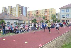 Športové podujatie v Želiezovciach.