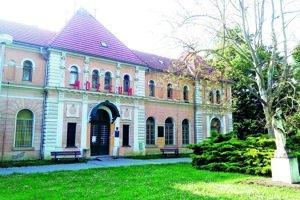 Bývalé Balneologické múzeum v Piešťanoch.