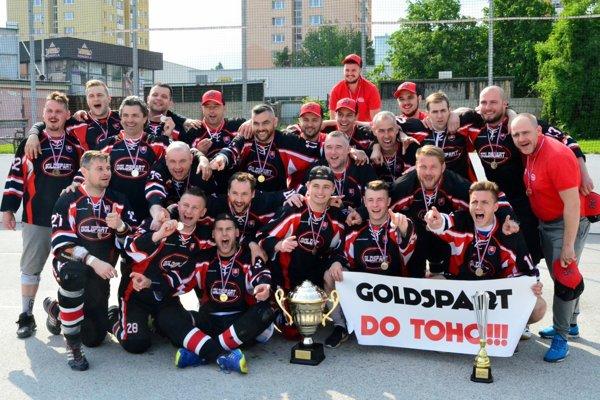 Goldspart Martin - hokejbalový majster Turca pre sezónu 2016/2017.