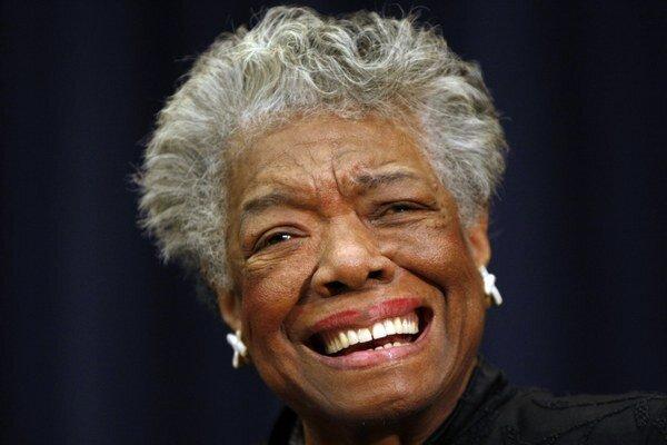 Maya Angelou, jedna z najznámejších Afroameričaniek v Spojených štátoch.