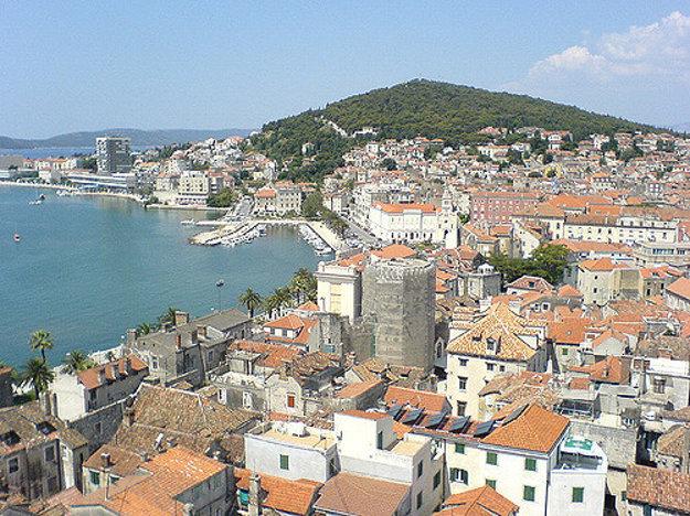 Split, Chorvátsko.