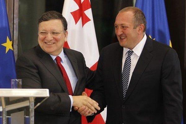 Barroso nedávno navštívil Tbilisi.
