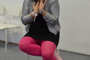 Adriana Totiková. V humenskej zuške sa zhostila úlohy režisérky.