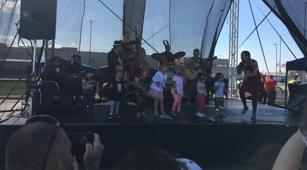 Spievankovo na Family day v Leviciach nesmelo chýbať