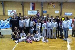 Výprava Taekwondo Hakimi na Cassovia Open.