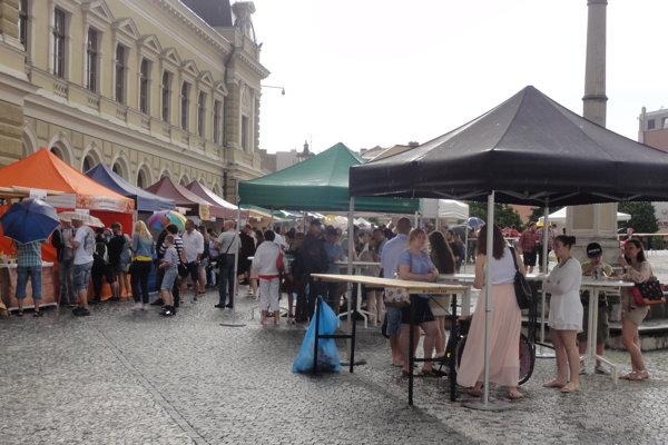 Gastrofestival bude aj tento rok na Svätoplukovom námestí.
