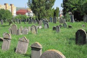 Židovský cintorín v Hlohovci.