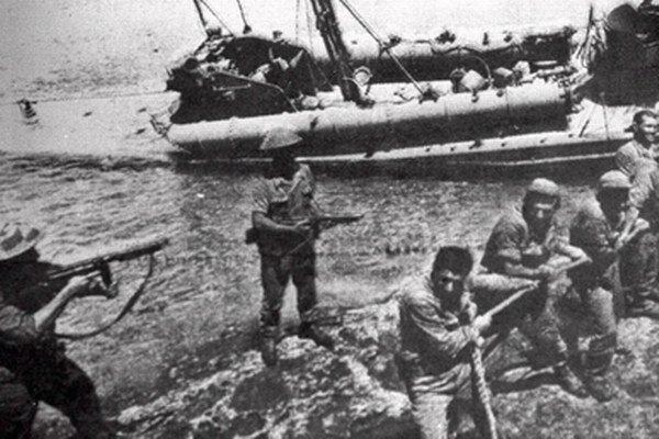 Turecká invázia na Cyprus v roku 1974.