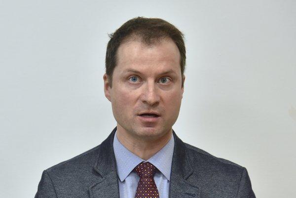 Riaditeľ TIS Gabriel Šípoš.