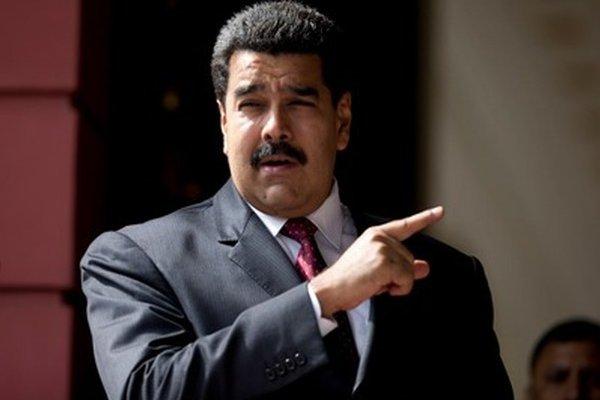 Prezident Maduro.