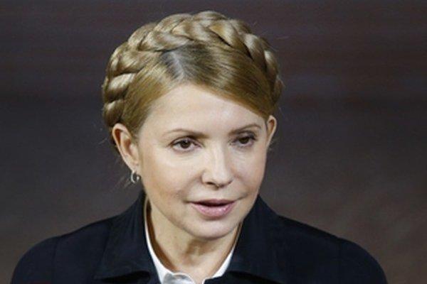 Ukrajinská expremiérka Julia Tymošenková.