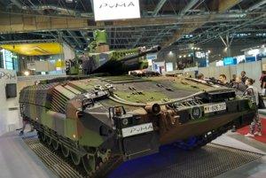 Nemecké vozidlo Puma.