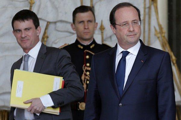 Manuel Valls a Francois Hollande.