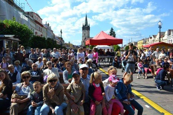 Prešovčania oslavujú Dni mesta vo veľkom štýle.