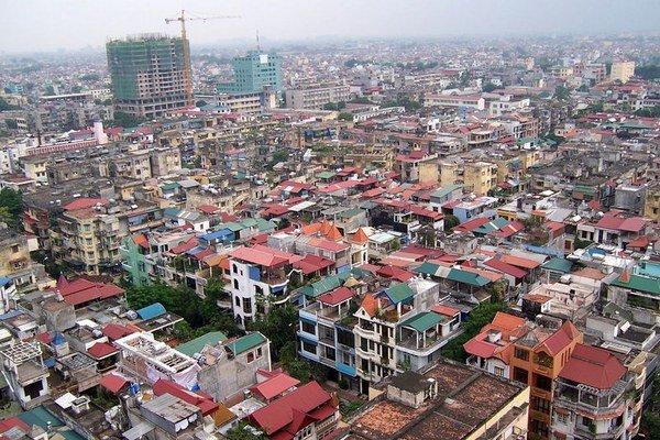 Hanoj, hlavné mesto Vietnamu.