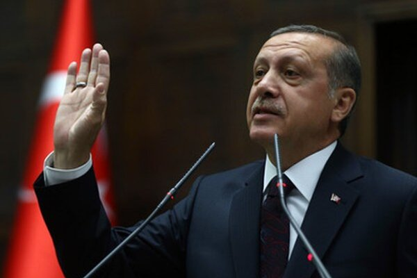 Turecký premiér Recep Tayyip Erdogan.