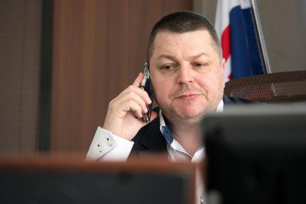Generálny riaditeľ Národnej agentúry pre sieťové a elektronické služby (NASES) Norbert Molnár