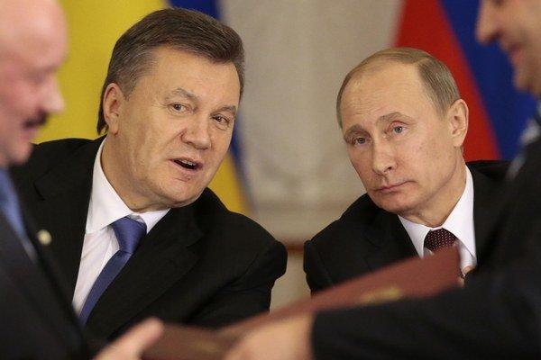 Prezidenti Ukrajiny a Ruska Janukovyč a Putin sa stretávajú často. Aj dnes sa zídu v Soči.
