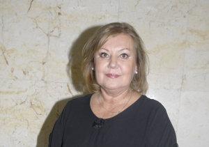 Ľuba Blaškovičová, poslankyňa MZ.