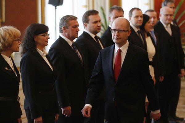 Česko má novú vládu, premiérom sa stal Bohuslav Sobotka.