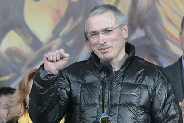 Michail Chodorkovský vystúpil aj na majdane.
