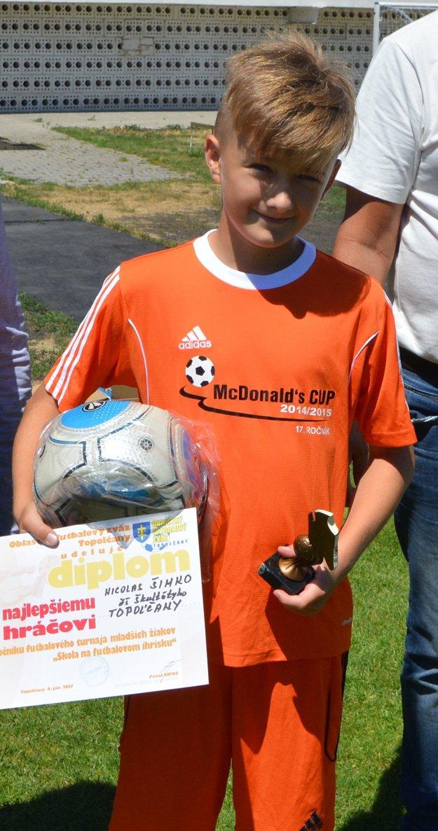 Najlepším hráčom turnaja sa stal Nicolas Šimko.