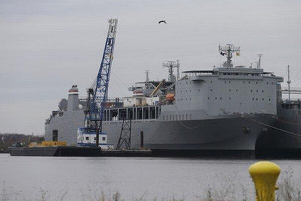 Loď Cape Ray, na ktorej budú ničiť chemické zbrane.