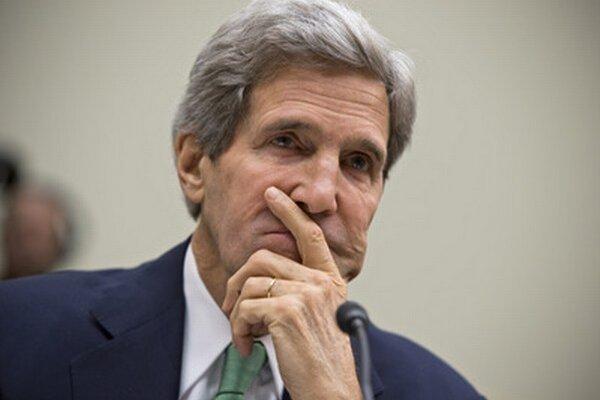 Šéf americkej diplomacie John Kerry.