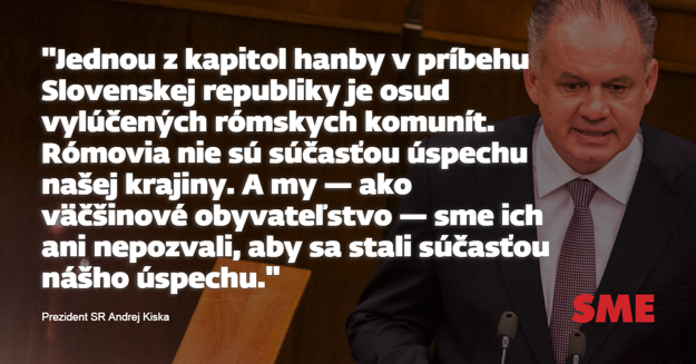 andrej kiska sprava o stave slovenska 2017