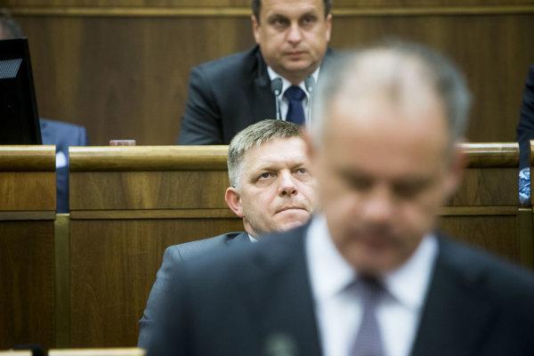 Prezident Andrej Kiska bol v tretej správe o stave republiky adresnejší než v minulosti.