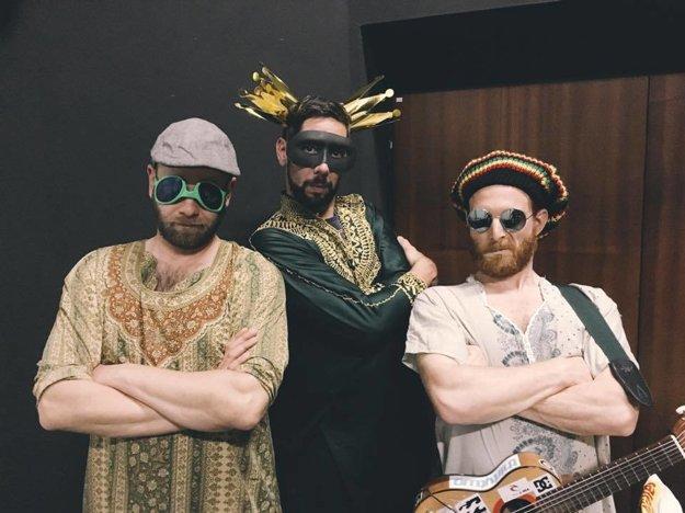 Tri tvorivé tvory. Ich improvizácie vždy prinesú veľa smiechu.